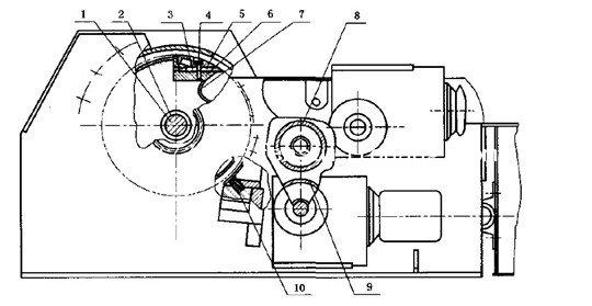盘式粉碎机结构简图
